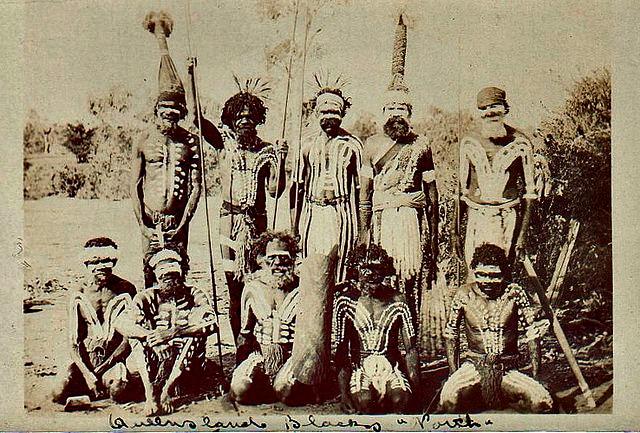 Aborigines from north Queensland - circa 1900