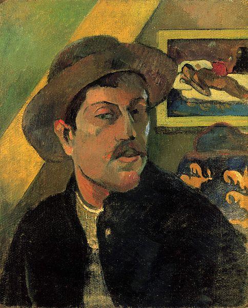 Paul Gauguin (1848-1903) Self Portrait 1893