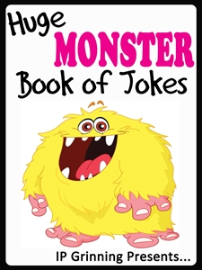 huge monster book of jokes
