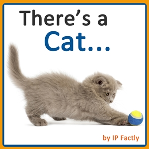 There's a Cat... (Animal Rhyming Books For Children)