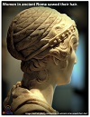 Roman Portrait Bust of a Woman