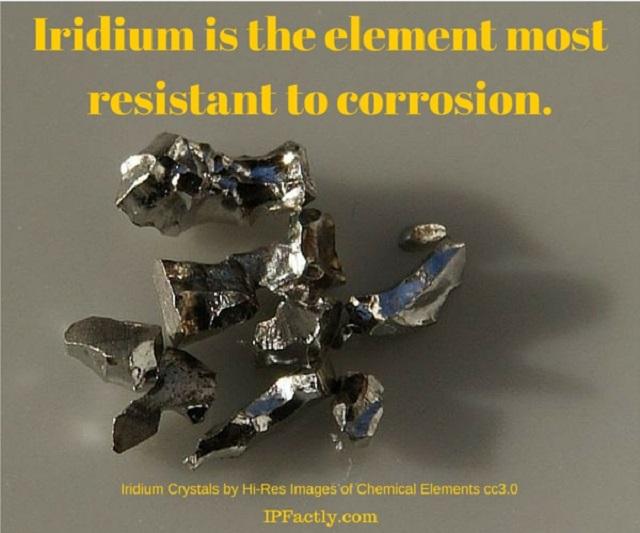 Iridium crystals