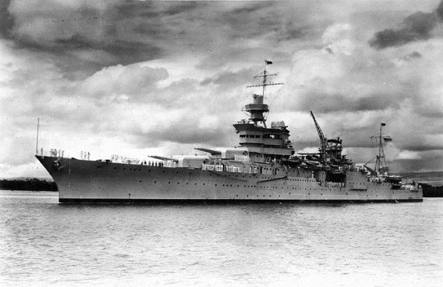 USS Indianapolis CA-35