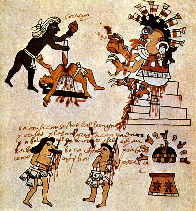 Kodeks_tudela_human_sacrifice_aztecs