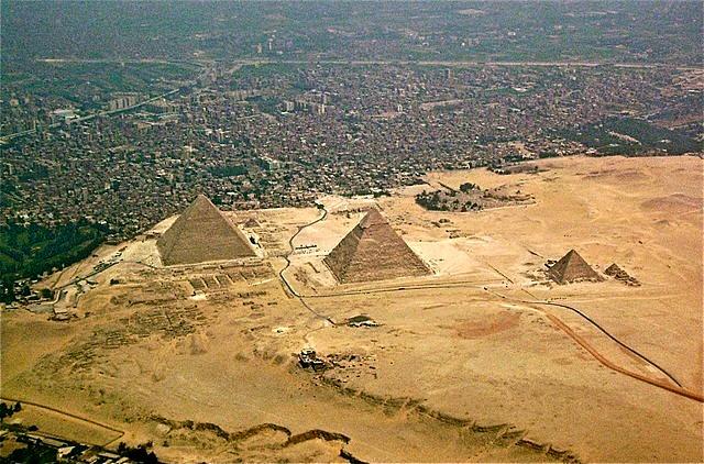 Giza-pyramids