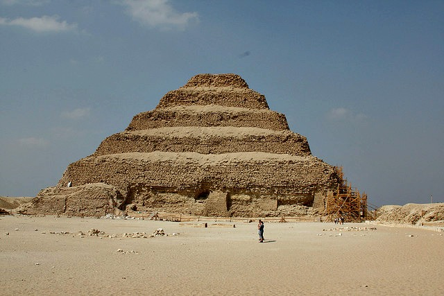 Step pyramid of King Djoser at Saqqara
