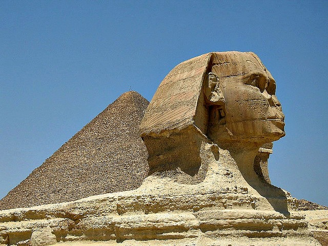 The Great Pyramid & Sphinx, Cairo, Egypt