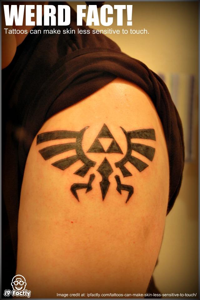 Zelda Hyrule Crest Tattoo