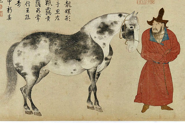Horse_and_Groom,_after_Li_Gonglin_by_Zhao_Yong