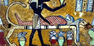 Anubis_Sarcophagus_wood_Egypt
