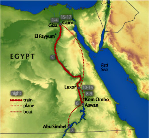 Egypt_Itinerary_Map