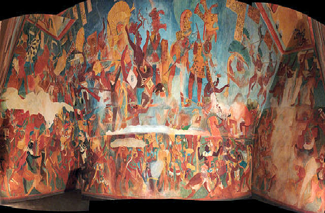 Reproduction_of_Bonampak_murals