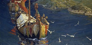 Nicholas_Roerich,_Guests_from_Overseas_Vikings