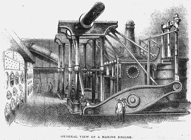 Steam powered vessel