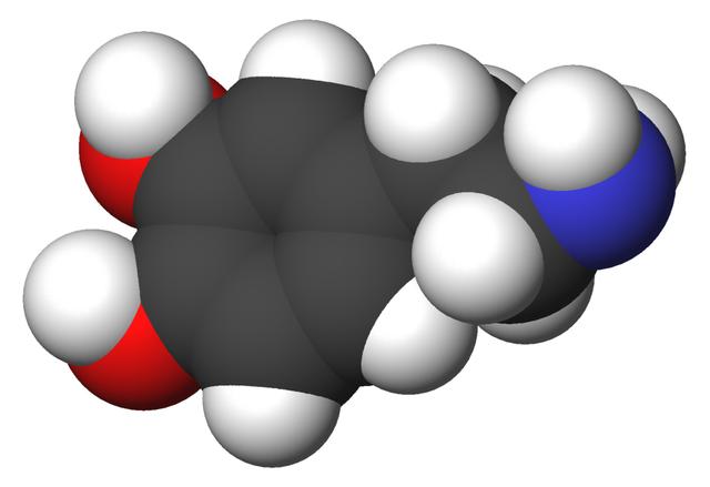 Dopamine 3d-CPK