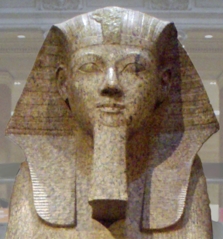 Hatshepsut's false beard