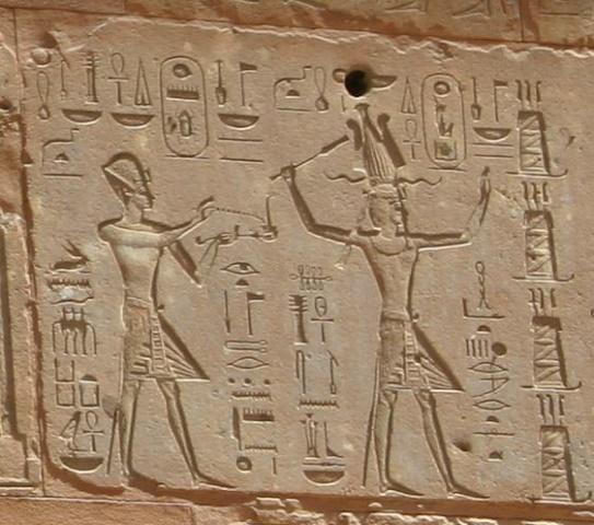 Thutmose III and Hatshepsut