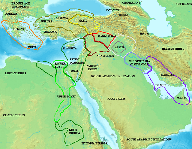 Important Events In Ancient Egypt Fun Facts You Need To Know - Map of egypt 1300 bc