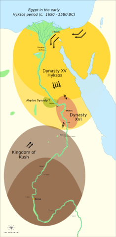 Important Events In Ancient Egypt Fun Facts You Need To Know - Map of egypt old kingdom