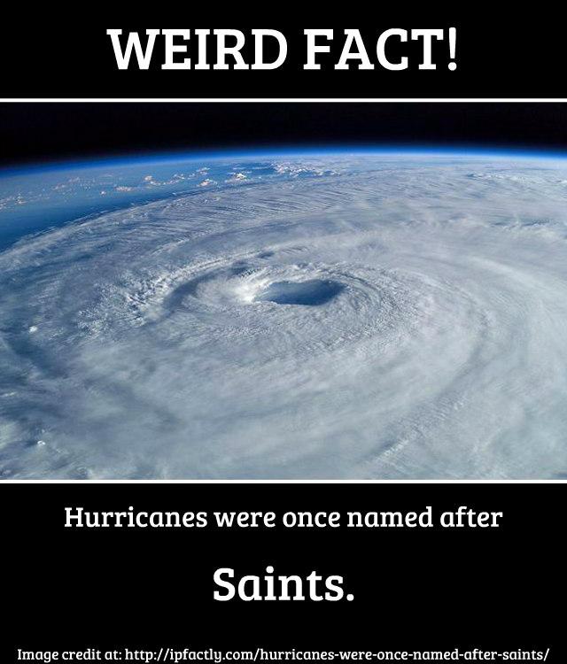Hurricanes were once n...