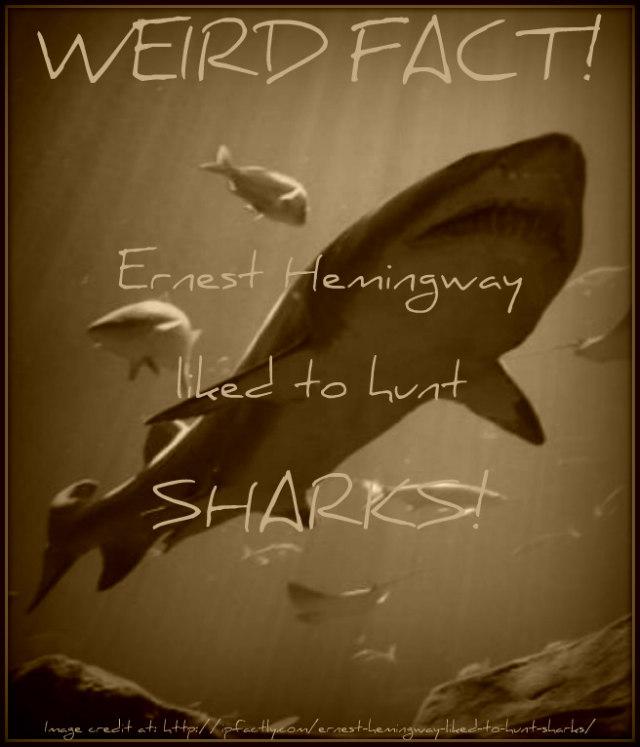 Ernest Hemingway hunt sharks