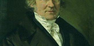 Friedrich Wilhelm Bessel (1839 painting)