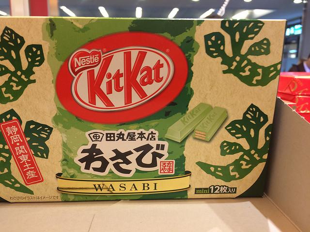 Wasabi Kit Kat Bar