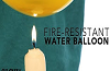 Fire Resistant Balloon.