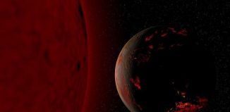 Red Giant Earth