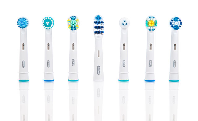 Various electric toothbrush heads for Braun Oral-B electric toothbrush