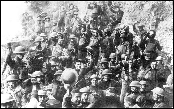 24b-US_64th_regiment_celebrate_the_Armistice