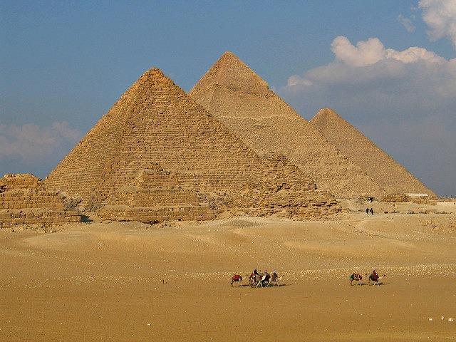 Giza Pyramids (Cairo, Egypt)