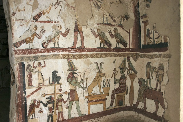 Paintings_from_the_tomb_of_Petosiris_at_Muzawaka_XIII