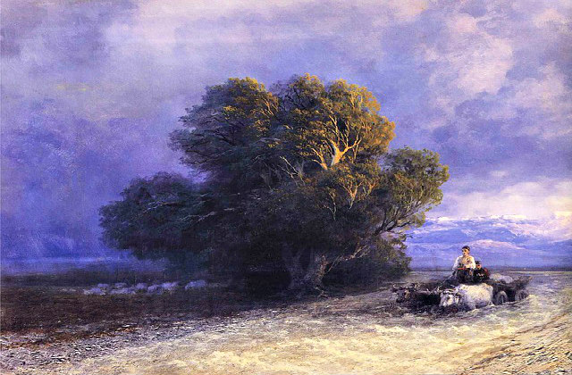 Ivan Aivazovsky Painting. Credit: tpsdave, PD image.