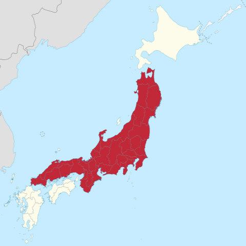 Honshu_Island_in_Japan