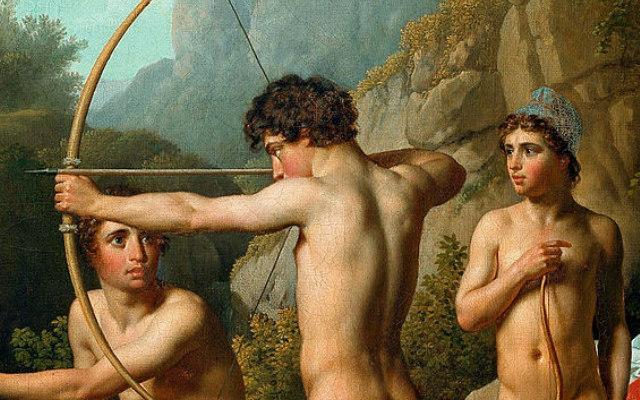 Spartan_boys_practising_archery