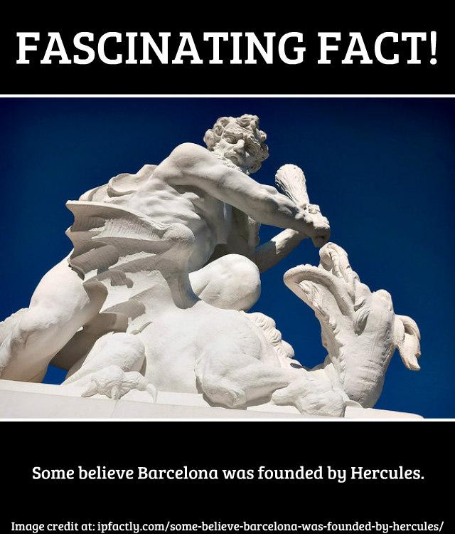 Hercules fighting a dragon.