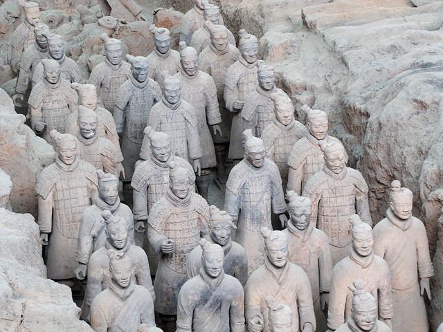 Pit 1, Museum of Terracotta Army, Xi'an, China