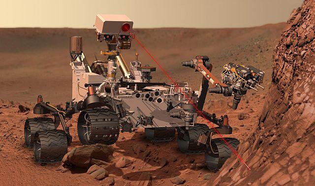 Martian rover Curiosity