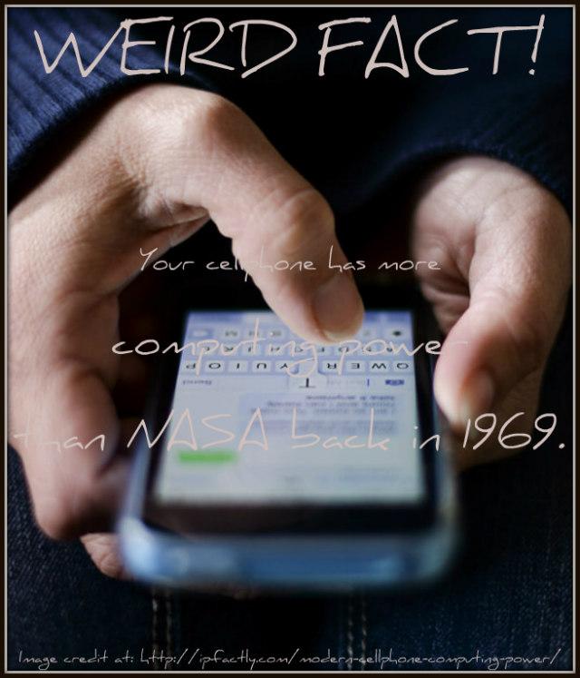 Modern Cellphone Computing Power